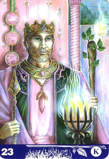 ワンドのキング(King of Wands)