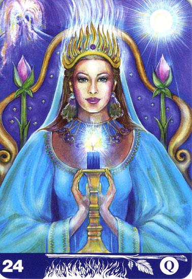 ワンドのクイーン(Queen of Wands )