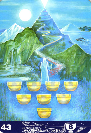 カップの8(Eight of Cups)