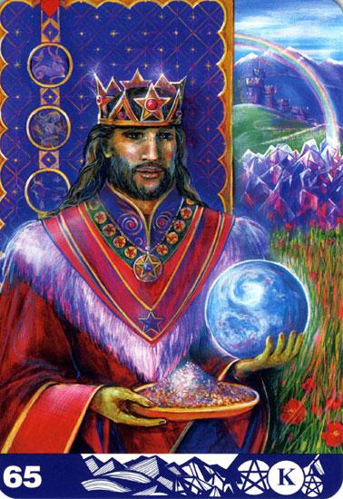 ペンタクルのキング(King of Pentacles)
